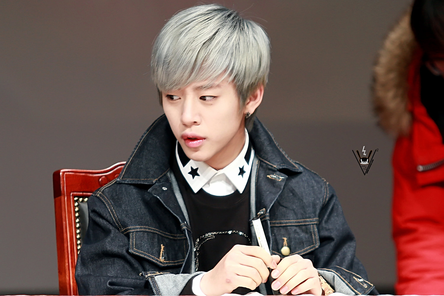 [140220/PIC] Daehyun @ First Sensibility Fansign in ...